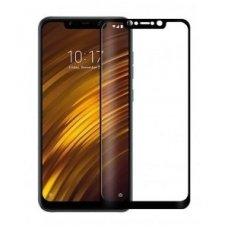 Xiaomi Pocophone F1 ekrano Apsauginis grūdintas stikliukas 5D Full glue juodais kraštais