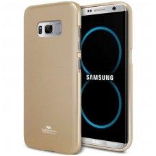 Samsung Galaxy S8 MERCURY JELLY CASE Silikoninis aukso spalvos