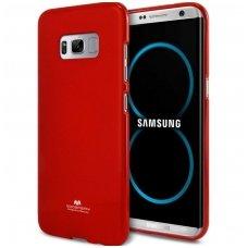 Samsung Galaxy S8 MERCURY JELLY CASE Silikoninis raudonas