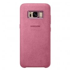 "Samsung Galaxy S8 ""Alcantara case"" rožinis"