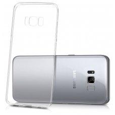 Samsung galaxy s8 plonas permatomas silikoninis dėklas Ultra Slim