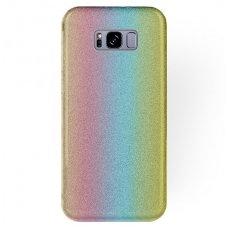"Samsung galaxy s8 plus DĖKLAS ""Glitter"" TPU rainbow"