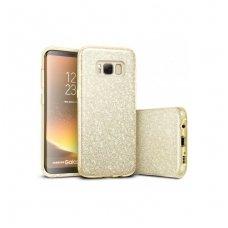 """Samsung galaxy s8 plus DĖKLAS """"Glitter"""" TPU auksinis"""
