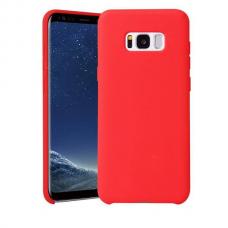 """Samsung galaxy s8 plus dėklas """"Liquid silicon""""  silikonas raudonas"""