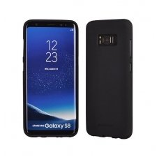 Samsung galaxy S8 plus dėklas MERCURY JELLY SOFT silikoninis juodas