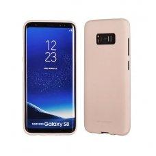 Samsung galaxy S8 plus dėklas MERCURY JELLY SOFT silikoninis smėlinis