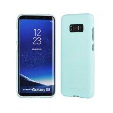 Samsung galaxy S8  plus dėklas MERCURY JELLY SOFT silikoninis žalsvas mėtinis
