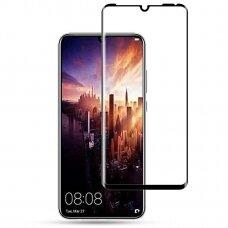 Huawei P30 ekrano Apsauginis grūdintas stikliukas 3D CF Full juodais kraštais