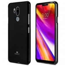 lg g7 thinq MERCURY JELLY CASE Silikoninis juodas