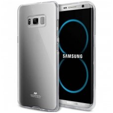 Samsung Galaxy S8 plus MERCURY JELLY Clear CASE Silikoninis permatomas