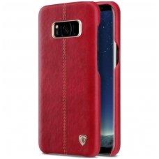 Samsung Galaxy S8 plus tikros odos dėklas ENGLON raudonas