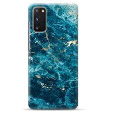 "Samsung Galaxy S10 lite TPU dėklas unikaliu dizainu 1.0 mm ""u-case Airskin Marble 2 design"""