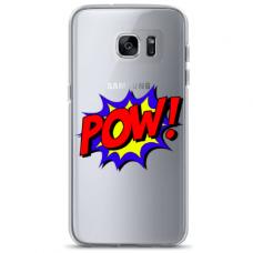 "Samsung Galaxy a3 2017 TPU DĖKLAS UNIKALIU DIZAINU 1.0 MM 1.0 mm ""u-case airskin POW design"""