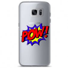"Samsung Galaxy S7 edge TPU DĖKLAS UNIKALIU DIZAINU 1.0 MM 1.0 mm ""u-case airskin POW design"""