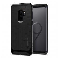 akcija! Samsung galaxy s9 plus Spigen Noe hybrid matinis silikonis juodas