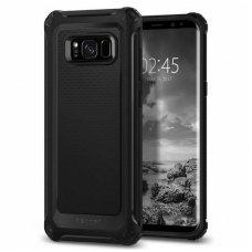 "Samsung galaxy s9 plus Spigen ""RUGGED ARMOR Extra"" aukštos kokybės tpu juodas"