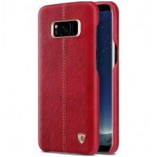 Samsung Galaxy S8 tikros odos dėklas ENGLON raudonas