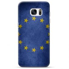 """Samsung Galaxy S6 edge TPU dėklas unikaliu dizainu 1.0 mm """"u-case Airskin EU design"""""""