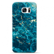 "Samsung Galaxy S6 edge TPU dėklas unikaliu dizainu 1.0 mm ""u-case Airskin Marble 2 design"""