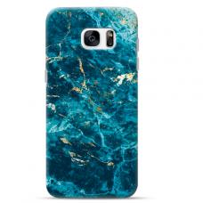 "Samsung Galaxy S7 edge TPU dėklas unikaliu dizainu 1.0 mm ""u-case Airskin Marble 2 design"""