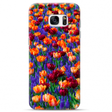 "Samsung Galaxy S6 edge TPU dėklas unikaliu dizainu 1.0 mm ""u-case Airskin Nature 2 design"""