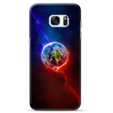 "Samsung Galaxy S6 edge TPU dėklas unikaliu dizainu 1.0 mm ""u-case Airskin Nature 4 design"""