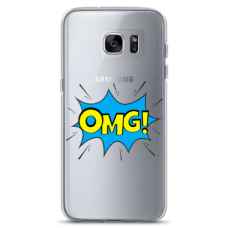 """Samsung Galaxy a3 2017 TPU dėklas unikaliu dizainu 1.0 mm """"u-case Airskin OMG design"""""""