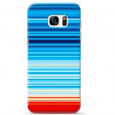 """Samsung Galaxy S7 TPU dėklas unikaliu dizainu 1.0 mm """"u-case Airskin Pattern 2 design"""""""