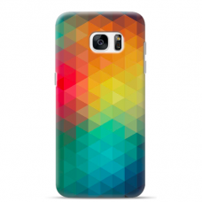 "Samsung Galaxy S6 edge TPU dėklas unikaliu dizainu 1.0 mm ""u-case Airskin Pattern 3 design"""
