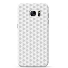 """Samsung Galaxy S7 TPU dėklas unikaliu dizainu 1.0 mm """"u-case Airskin Pattern 5 design"""""""