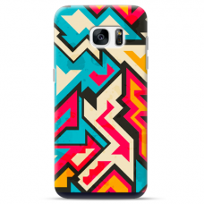 "Samsung Galaxy S7 edge TPU dėklas unikaliu dizainu 1.0 mm ""u-case Airskin Pattern 7 design"""