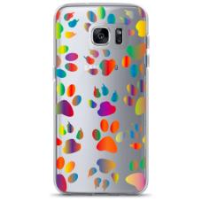 "Samsung Galaxy S6 edge TPU dėklas unikaliu dizainu 1.0 mm ""u-case Airskin PAW design"""