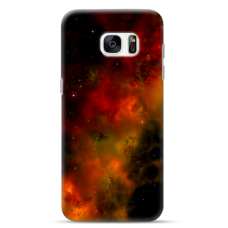"Samsung Galaxy S6 edge TPU dėklas unikaliu dizainu 1.0 mm ""u-case Airskin Space 1 design"""