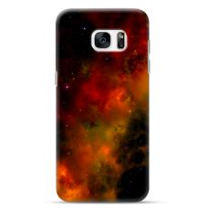 "Samsung Galaxy S7 Edge TPU dėklas unikaliu dizainu 1.0 mm ""u-case Airskin Space 1 design"""