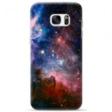 "Samsung Galaxy S7 Edge TPU dėklas unikaliu dizainu 1.0 mm ""u-case Airskin Space 2 design"""