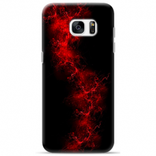 "Samsung Galaxy S6 edge TPU dėklas unikaliu dizainu 1.0 mm ""u-case Airskin Space 3 design"""