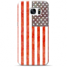 "Samsung Galaxy S6 edge TPU dėklas unikaliu dizainu 1.0 mm ""u-case Airskin USA design"""