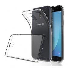 Samsung Galaxy J4 X-level antislip permatomas skaidrus dėklas 0.78 mm silikonas
