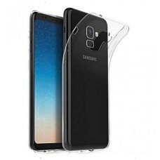 Samsung Galaxy A8 Plus 2018 X-level antislip permatomas skaidrus dėklas 0.78 mm silikonas
