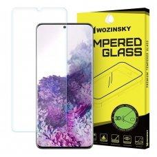 Akcija! Samsung galaxy S20 apsauginė plėvelė wozinsky 3D skaidri
