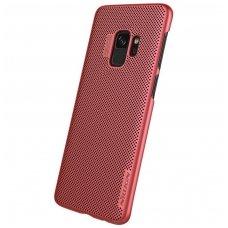 Samsung galaxy S9 dėklas Nillkin Air PC plastikas raudonas
