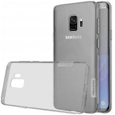 Samsung galaxy S9 dėklas Nillkin nature TPU 0,6mm pilkas