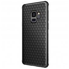 Samsung Galaxy s9 dėklas Nillkin Weave TPU juodas