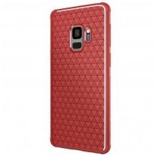 Samsung Galaxy s9 dėklas Nillkin Weave TPU raudonas