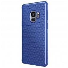 Samsung Galaxy s9 dėklas Nillkin Weave TPU mėlynas