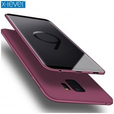 Samsung galaxy S9 dėklas X-LEVEL GUARDIAN silikonas bordo
