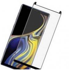 Samsung Galaxy Note 9 lenktas grūdintas apsauginis stiklas H Pro 3D juodais kraštais CF pritaikytas deklui