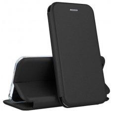 Samsung galaxy S9 plus atverčiamas dėklas Book elegance odinis juodas