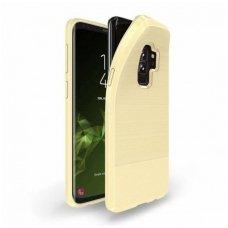 Samsung Galaxy S9 PLUS dėklas Dux Ducis MOJO  silikonas aukso spalvos