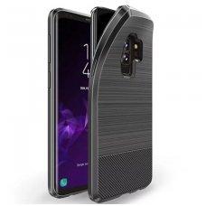 Samsung Galaxy S9 Plus dėklas Dux Ducis MOJO silikonas juodas